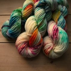 Everyday DK - Speckled Comic Rainbow