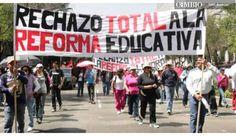 Maestros mexicanos mantienen bloqueos pese a ultimátum