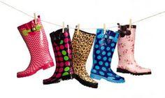 TWO FASHION STRIKES: Little Rain Boots