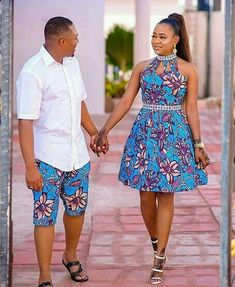 Online Hub For Fashion Beauty And Health: Stunningly Colorful Ankara Short Gown And Knicker . African Fashion Ankara, Latest African Fashion Dresses, African Print Fashion, Africa Fashion, African Wear, African Attire, African Women, African Style, Couples African Outfits