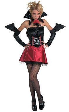 Womens Vampire Vixen Adult Costume
