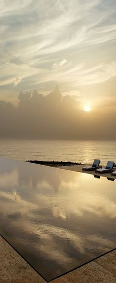 beautiful infinity pool Perfect edge infinity.