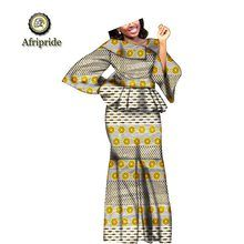 Online Shop 2019 african dresses for women AFRIPRIDE bazin riche ankara print dashiki pure cotton dress wax batik private custom African Dresses For Women, Dashiki, Aliexpress, Suits For Women, Cotton Dresses, African Fashion, Casual, Two Piece Skirt Set, Plus Size