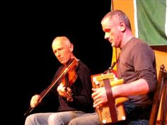 Pat O'Connor & Eoghan O'Sullivan playing traditional Irish music on fiddle and button-accordion, April 5, 2009 for the Coatesville Traditional Irish Music Series in Coatesville, PA.
