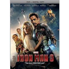 Marvel's 'Iron Man 3' arrives on DVD, Blu-ray and Blu-ray 3D on Tuesday, September 24, 2013 (plus exclusives and collectibles). Cast: Robert Downey Jr., Gwyneth Paltrow, Don Cheadle, Guy Pearce, Rebecca Hall, Stephanie Szostak, Eric Savin, Jon Favreau, Sir Ben Kingsley