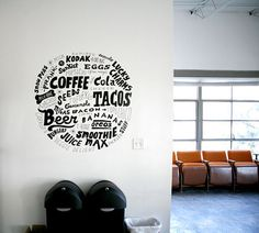 design is mine : isn't it lovely?: INTERIOR INSPIRATION : THE WRITING ON THE WALL.