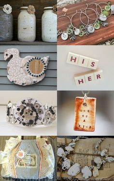 Gorgeous Gifts by Katrien from sweetiepips --Pinned with TreasuryPin.com