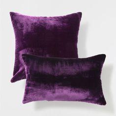 Pink velvet-effect pillow - Decorative Pillows - Decor and pillows | Zara Home United States