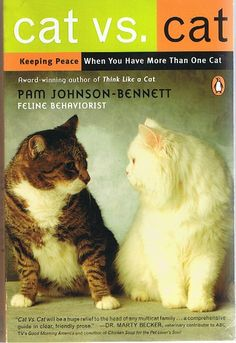 Keeping the Peace with your Cats ~by Pam Johnson-Bennett -feline behaviorist