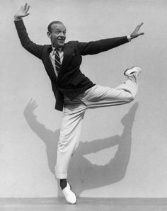 A legendary dancer Fred Astaire