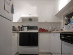 Scrapidoodlelicious: Kitchen Renovation Before and After