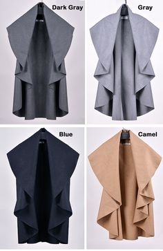 Femmes chauve - souris Cape Poncho de laine haut laine gros manteau  SV006078   Femme Chauve 52b82bed07b