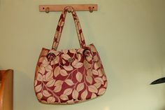large purse gold and red leaves and spice gromet by Chrispurses, $40.00