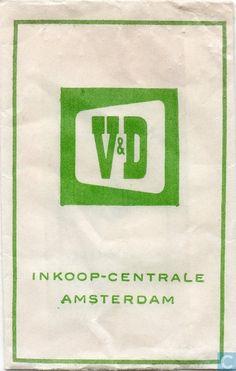 Suikerzakjes - Zakjes - V&D Inkoop Centrale (Vroom & Dreesmann)