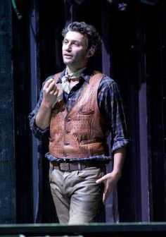 Jonas Kaufmann in Vienna State Opera's production of Puccini's 'La Fanciulla del West'