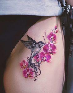 Get A Tattoo, Tattoo Ink, Wolf Tattoo Shoulder, Hummingbirds, Ink Art, Tattoo Artists, Watercolor Tattoo, Body Art, Anna