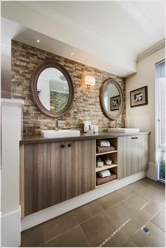 Freestanding tub bathroom layout and tubs on pinterest for Stacked stone bathroom ideas