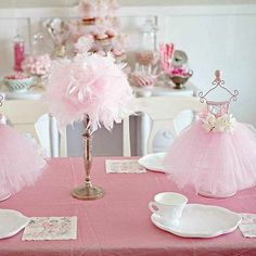 Host a Ballerina Party | Spoonful - love the teacups and cookie plates!!!