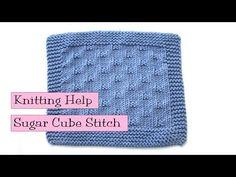 Knitting - Fancy Stitch Combo - Sugar Cubes Stitch