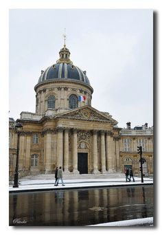 """Walk in Paris"" - Institut de France - 6ème arrondissement de Paris"