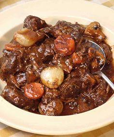 Quick Beef Bourguignonne