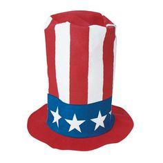 Patriotic Stove Pipe Hat  #patriotic #costumes #july4th