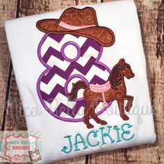 Western Cowgirl Horse Pony Themed Birthday by NicoBellaBoutique
