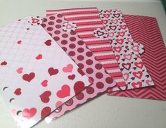 Valentine's Day  Laminated Dividers set of 5 for by PlanWithJessy