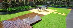 Patio garden designs in Sydney