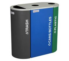 Photographs recycling garbage cans - borzii