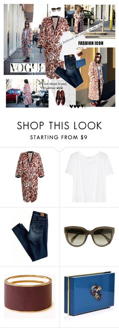"""""""My fashion icon Natasha Goldenberg"""" by vilen ❤ liked on Polyvore featuring Marni, T By Alexander Wang, American Eagle Outfitters, CÉLINE, Forever 21, Charlotte Olympia and Sonia Rykiel"""