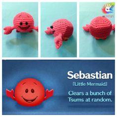 Tsum Tsum Sebastian Pattern by uDezignCrafts on Etsy