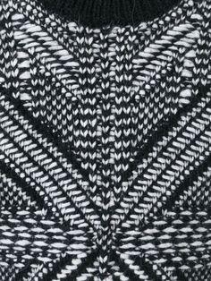 Les Hommes Intarsia Knit Sweater - Elite - Farfetch.com