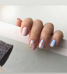 amazing nail designs ideas for short nails to try page 12 ~ my. - amazing nail designs ideas for short nails to try page 12 ~ my. Love Nails, Pretty Nails, Nail Manicure, Nail Polish, Manicure Ideas, Pedicure, Gel Manicure Designs, Glitter Manicure, Nails Design