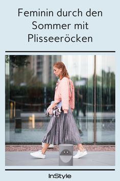 Plisseerock - der feminine Sommer-Trend Rock Style, Cooler Look, Super, Tulle, Elegant, Skirts, Outfits, Beautiful, Collection