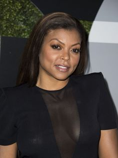 Taraji P. Henson comes a little sheer for the GQ Men of The Year's party.  Valerie Macon, AFP/Getty Images
