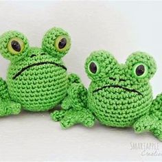Geh kelter Frosch Smartapple Amigurumi and Crochet Creations Free pattern - Fred the Frog Tasuta heegeldamise juhend - konn Fred # Crochet Frog, Crochet Animal Amigurumi, Crochet Gratis, Knit Or Crochet, Cute Crochet, Amigurumi Patterns, Amigurumi Doll, Crochet Animals, Crochet For Kids