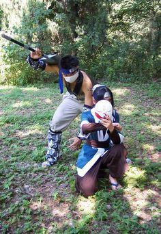 Momochi Zabuza et Haku #Naruto #Cosplay