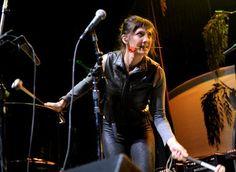 Aja Volkman of Nico Vega Aja Volkman, The Tabernacle, The Crown, Atlanta, Leather Pants, Fire, Music, Beauty, Women