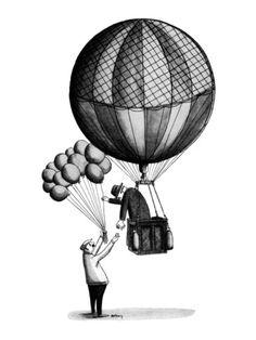 Next Tattoo Idea- Hot air balloon