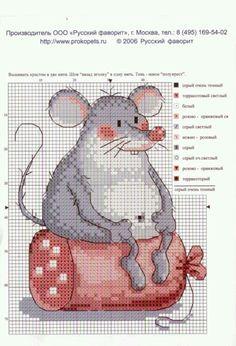Мышь объевшаяся