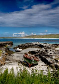 Inlet Isle of Barra, Outer Hebrides, Scotland Isle Of Man, Barra Scotland, Scotland Landscape, Scotland Travel, Scotland Uk, Outer Hebrides, Scottish Islands, Roadtrip, Highlands