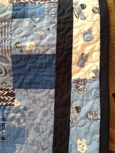 Available immediately Carolina Tarheel quilt by YourLifeInStitches,