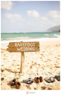 www.creatrixphotography.com #hawaii #barefootwedding #photography