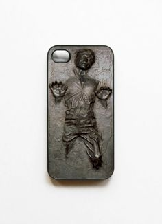 Han Solo in Carbonite iPhone Case #StarWars
