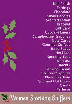 Stocking Stuffer Ideas for Women #AdventCalendar