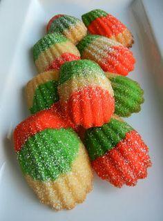 Sugar Swings! Serve Some: merry christmahanakwanzika.....holiday madeleines + recipe link