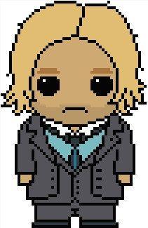 Hunger Games: Haymitch Abernathy PDF Chart Cross Stitch Pattern