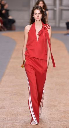 Look 8 from the Chloé Spring-Summer 2016 collection