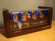 4XIN 12 Nixie Tubes Clock LED Backlight and Alarm by numitronix starting at $139
